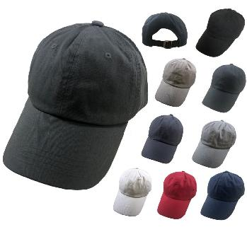 100% Cotton Ball Cap [Assortment]